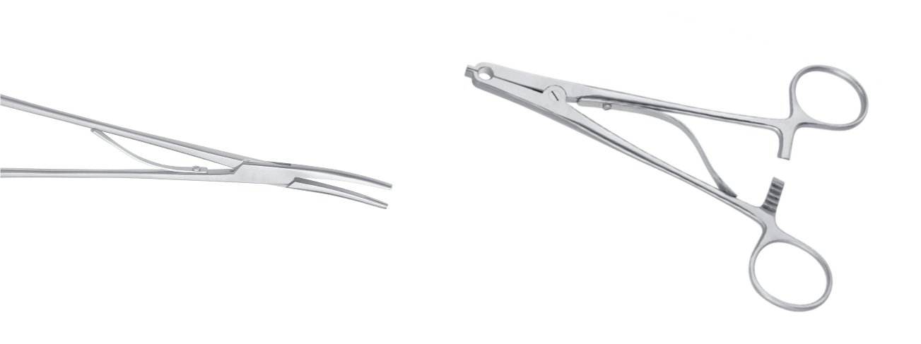 Scalp Clips and Applying Forceps