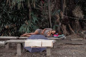 teenager homeless