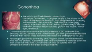 what does gonorrhea look like