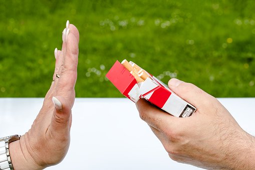 Unrestricted Cigarette Advertisement