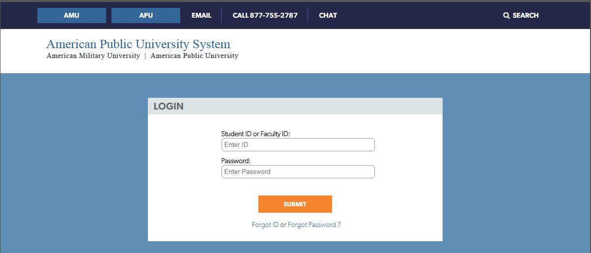 Apus student login