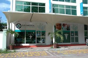 llist of hospitals in Seychelles