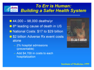 iom to err is human