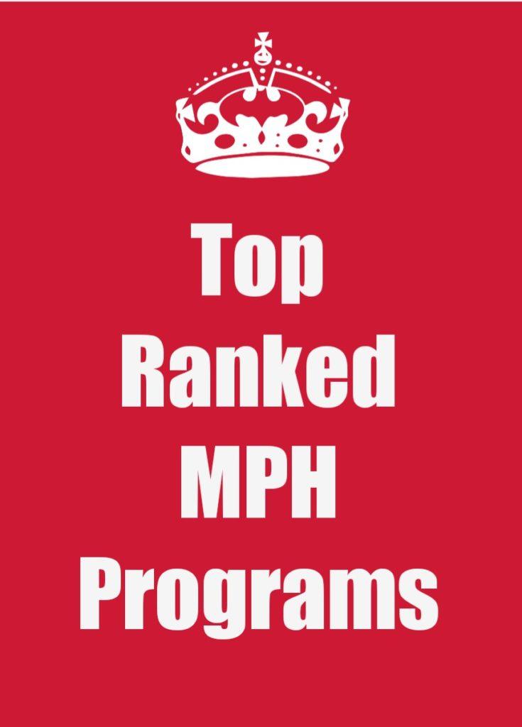 top Mph programs