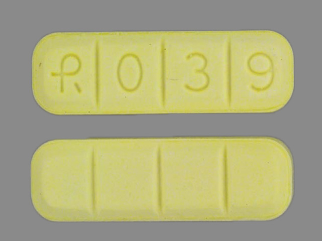 How Long Does Yellow R039 Xanax last