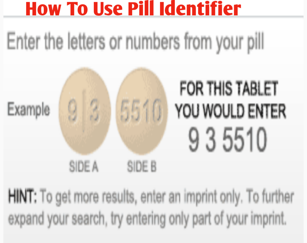 How To Use The Pill Identifier/Pill Finder Tool