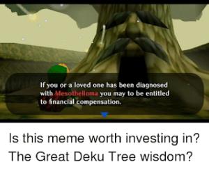 Mesothelioma Meme