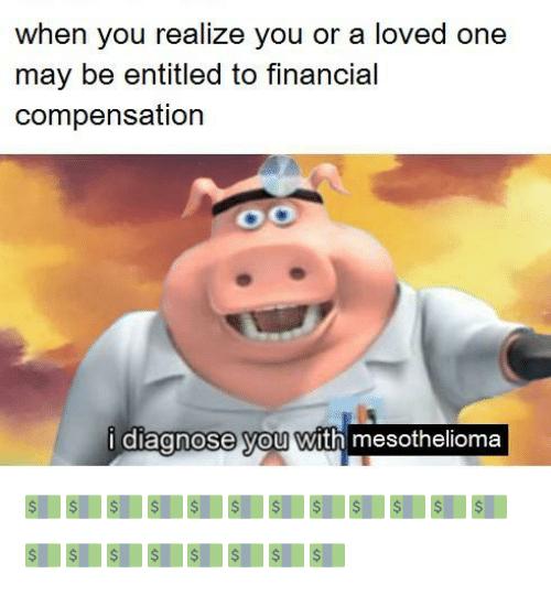 mesothelioma lawyer memes x
