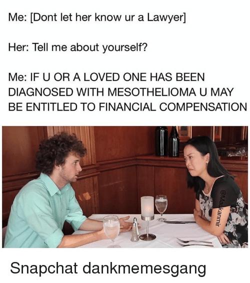 mesothelioma lawyer memes