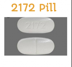 2172 white pill