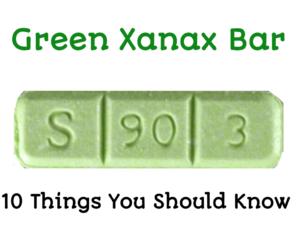 Green Xanax Bars S 90 3