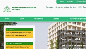 ABU online nursing programs and schools in nigeria