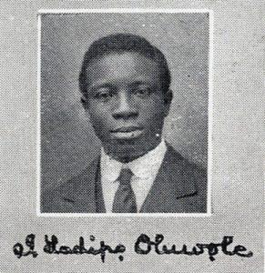 Dr. Isaac Ladipo Oluwole