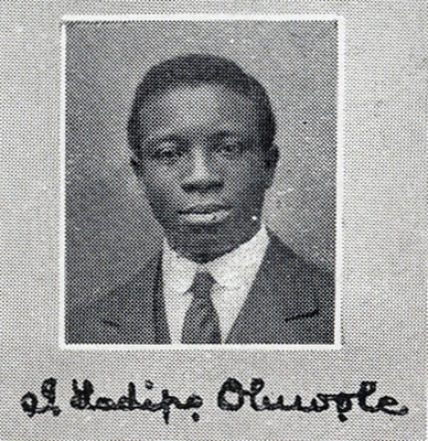 Dr.  Isaac Ladipo Oluwole