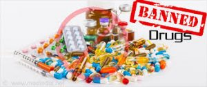 List of banned drugs in the us