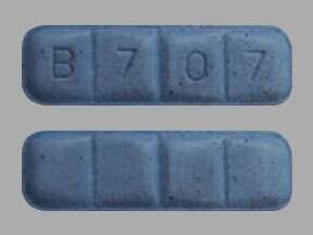 Blue Xanax Bars B707
