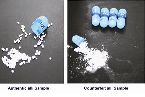 Fake Alli Diet Pills