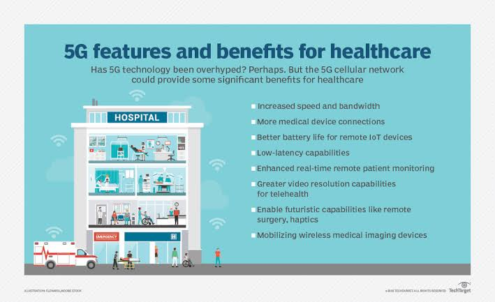 5g Benefits for healthcare