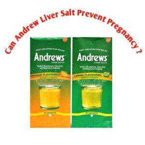 Can Andrews Liver Salt Flush Out Sperm