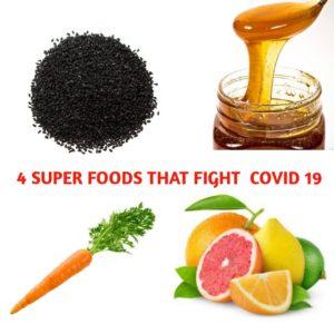 food to fight coronavirus covid 19