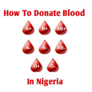 How To Donate Blood In Nigeria