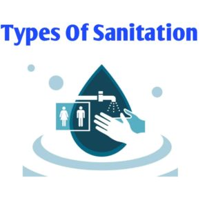 Types of sanitation