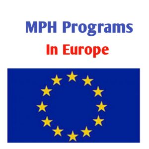 MPH Programs in Europe