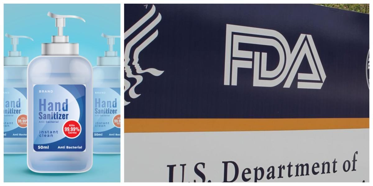 Pictures of Banned Hand Sanitizers Containing Methanol