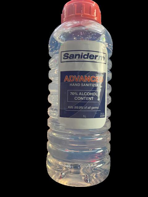Saniderm Hand Sanitizer recall