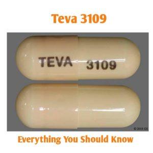 TEVA 3109 Pill