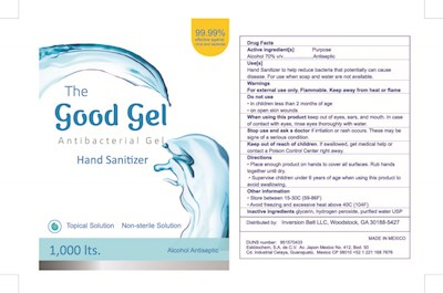 The Good Gel Antibacterial Gel Hand Sanitizer