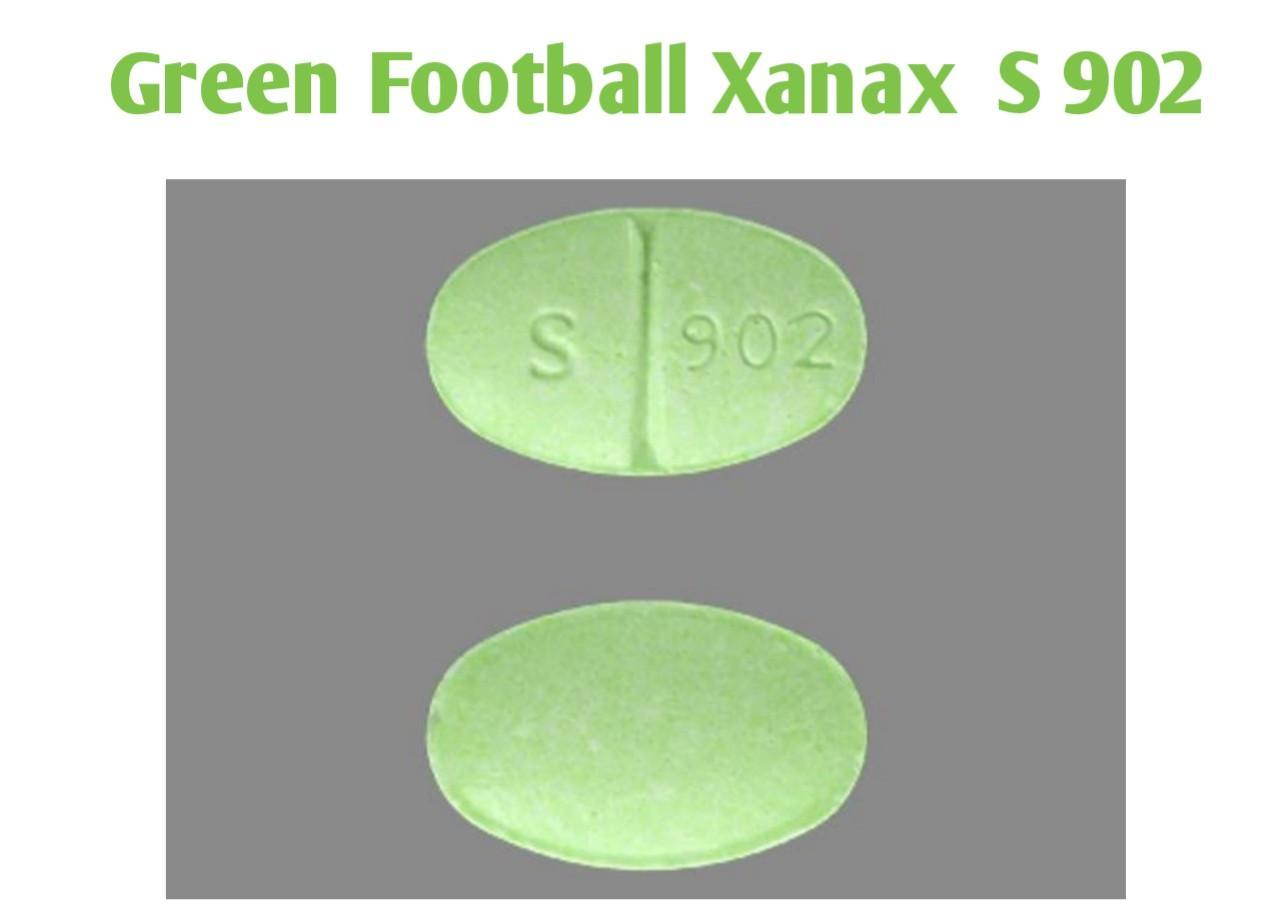 green football xanax s 902
