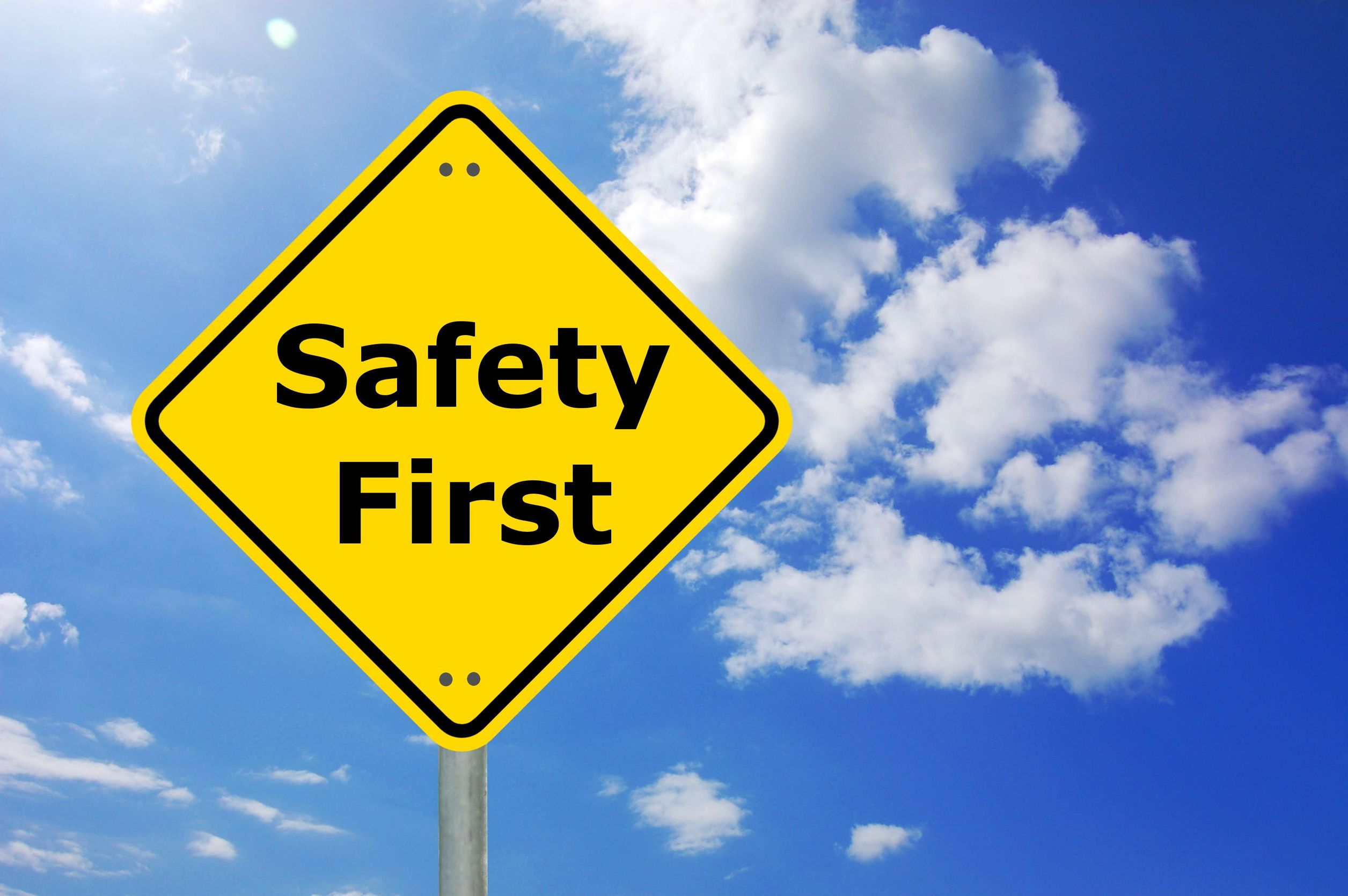5 types of safety signs