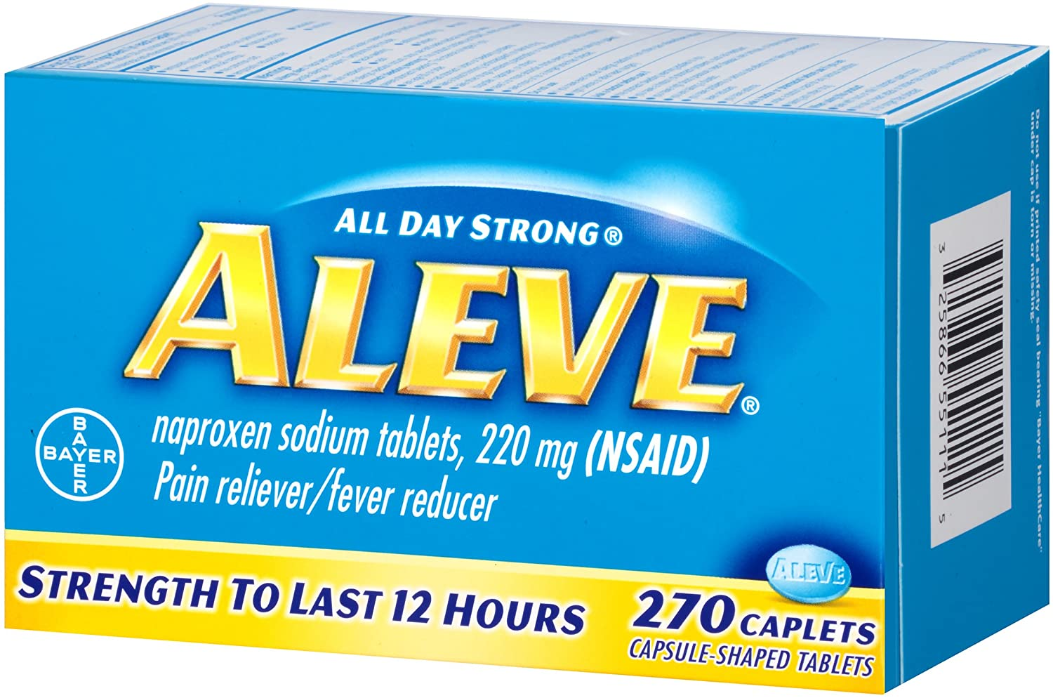 Is Aleve Ibuprofen