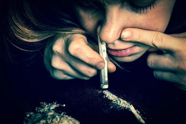 Snorting Valium