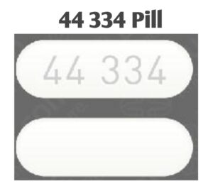 44334 White Pill