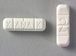 xanax street value