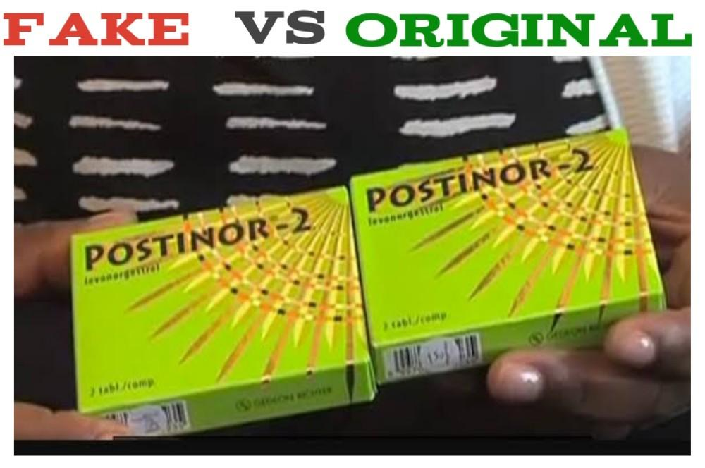fake postinor 2 pill