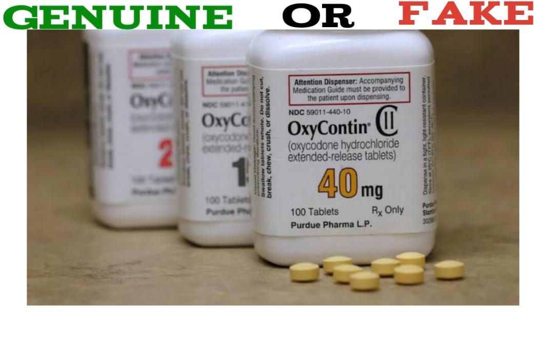 Fake Oxycontin