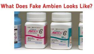Fake Ambien (Zolpidem)