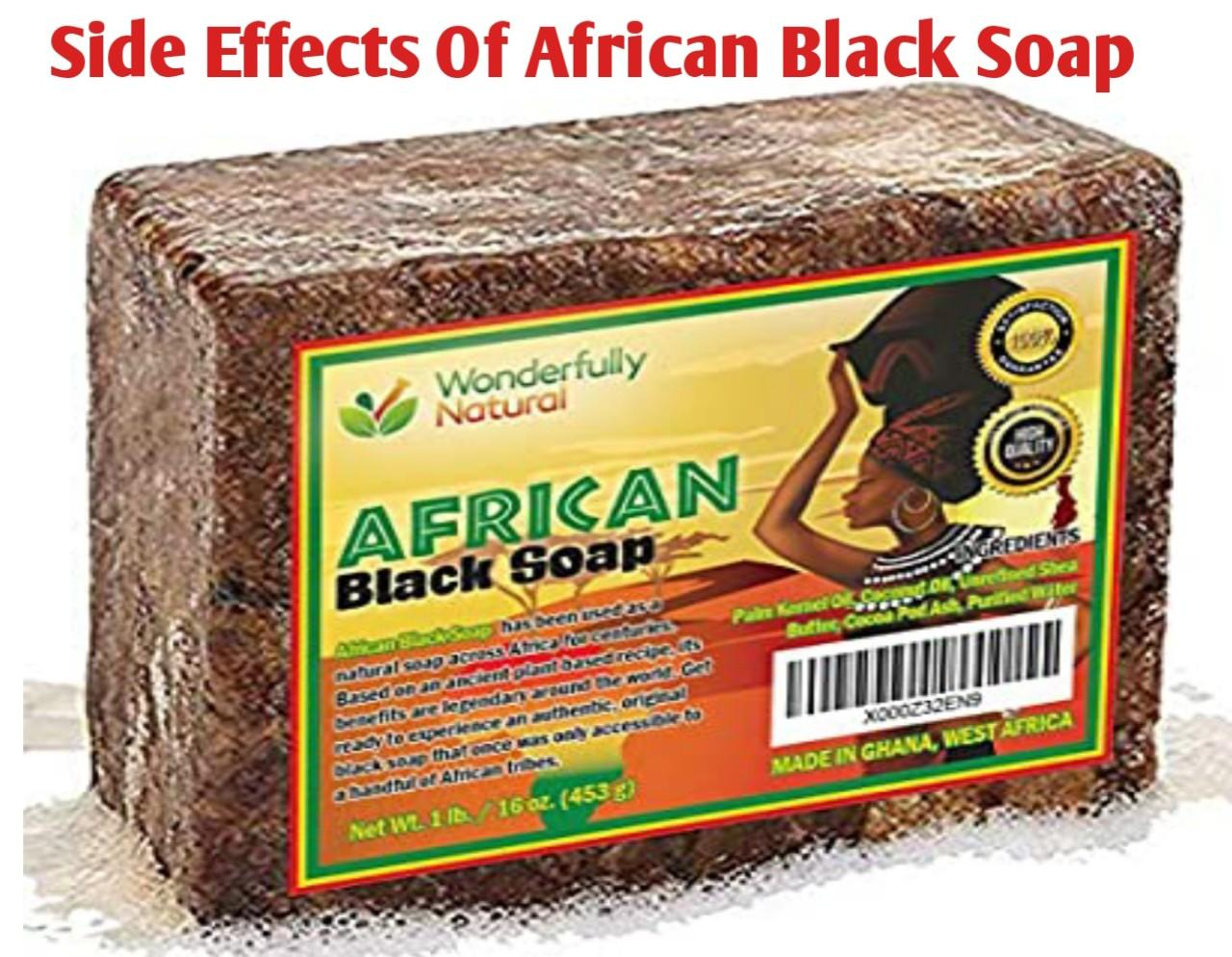 African Black Soap Side Effects