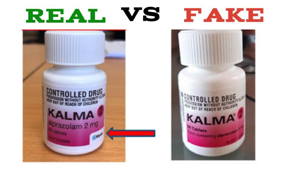 Fake Kalma 2mg Pills