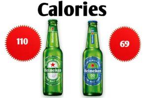 heineken calories