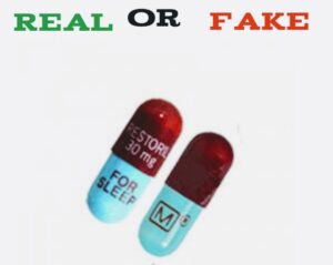 How To Spot Fake Temazepam (Restoril) Pills