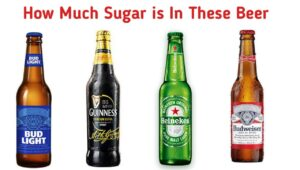 how much sugar is in beer