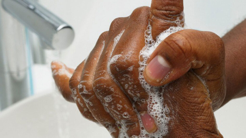 How to Wash Your Hands Properly in nigeria