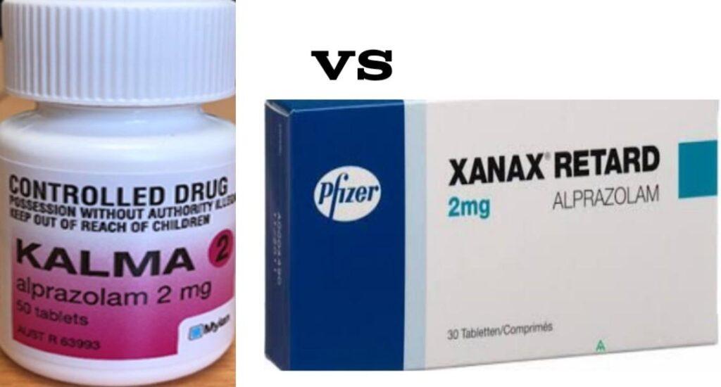 Kalma 2mg vs Xanax 2mg