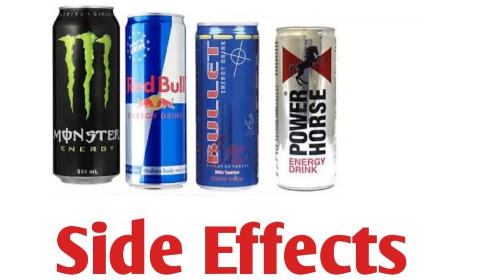 Side Effects of Power Horse, Monster, Bullet and Climax Energy drinks