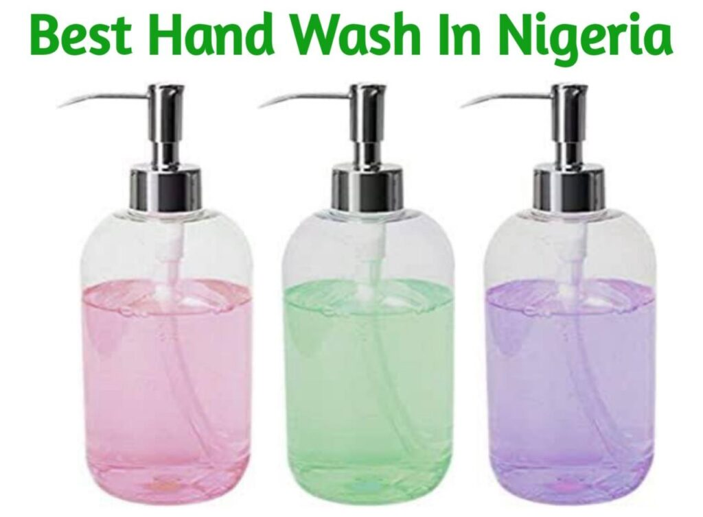 hand wash in nigeria