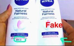 fake nivea cream